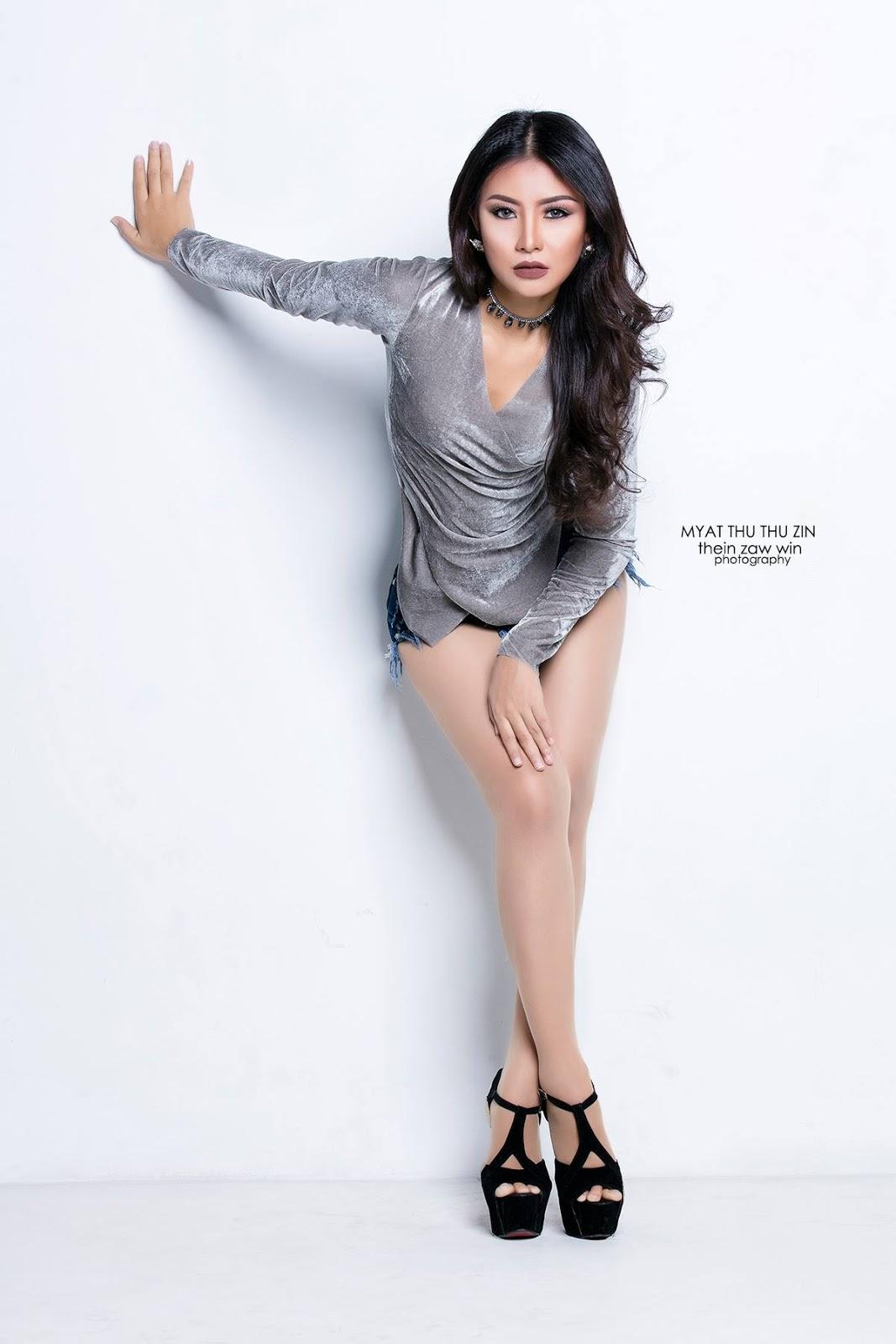 Myat Thu Thu Zin - Sunday Journal Cover Photoshoot