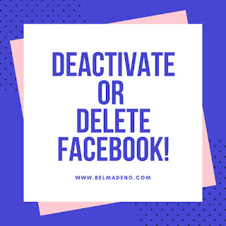 How Do I deactivate or permanently delete my Facebook account?