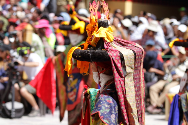 Hemis Monastery festival at a close glance
