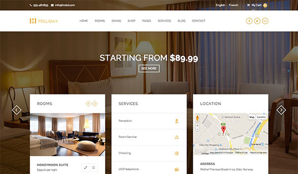 Holiday-WordPress-theme