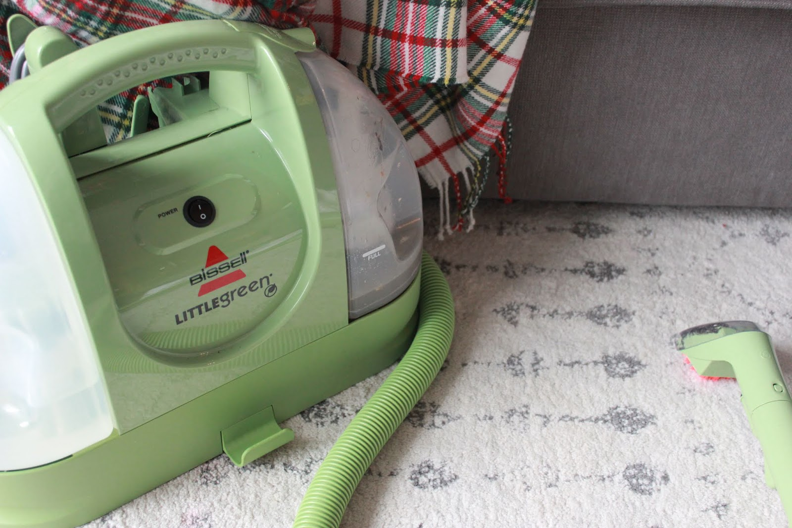 The One Tool You Need for Cleaning Up After a Toddler: Bissel Little Green