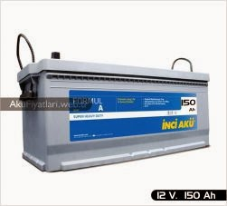 inci akü formul a heavy duty serisi 12 volt 150 amper