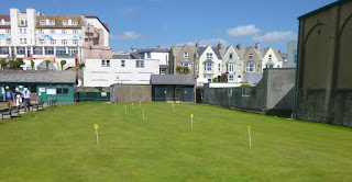 Putting Green at Bude Haven Recreation Ground in Cornwall