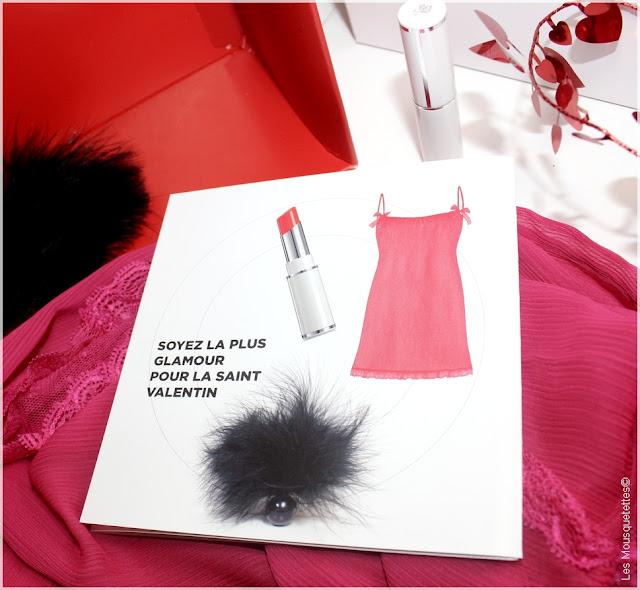 Nuisette Darjeeling - Shine Lover rouge à lèvres belle mine de Lancôme - La Box beauté des Bees Love - Magazine Be - Ma Boutique Top Santé - Blog beauté Les Mousquetettes©