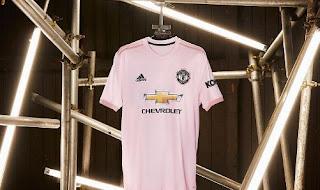Manchester United Rilis Jersey Away Baru Musim 2018-2019