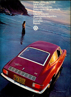 propaganda Karmann Ghia - 1972