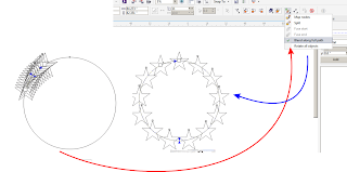A circle within a circle - How to make the center transparent?