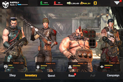Download Game Dead Warfare Zombie Mod Apk Unlimited Health Update Terbaru