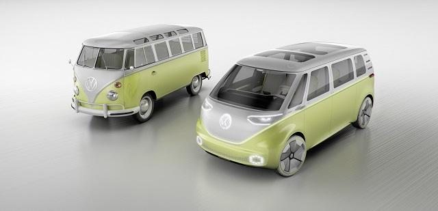 Model elèctric de la Transporter de Volkswagen