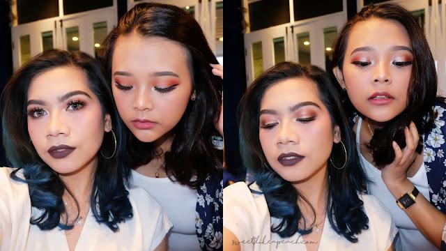nivea makeup challenge - gorgeous glam makeup look