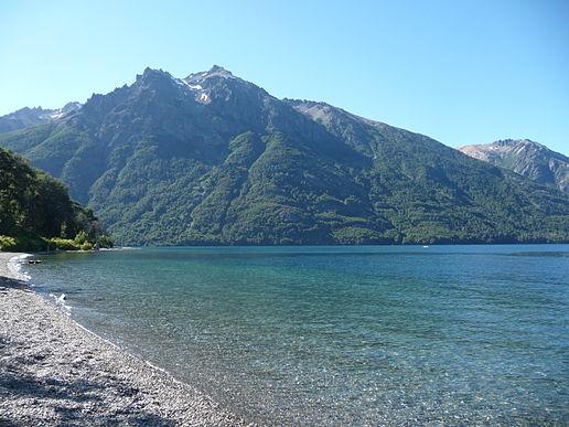 Praias do Lado Leste e Sul no Lago Gutiérrez em Bariloche