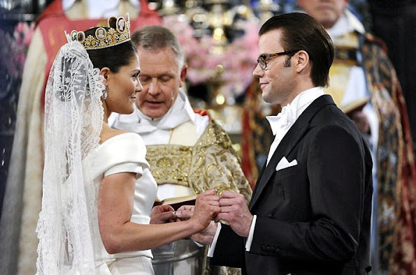 Crown Princess Victoria and Prince Daniel got married with a ceremony held at Stockholm Cathedral