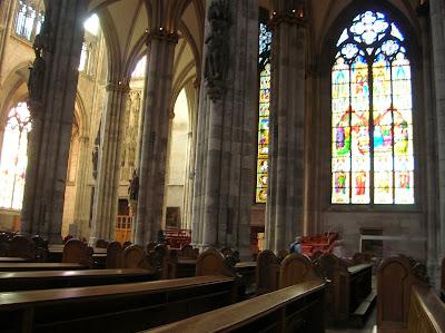 Interior de la Catedral de Colonia, Kölmer Dom, Colonia, Köln, Alemania, round the world, La vuelta al mundo de Asun y Ricardo, mundoporlibre.com