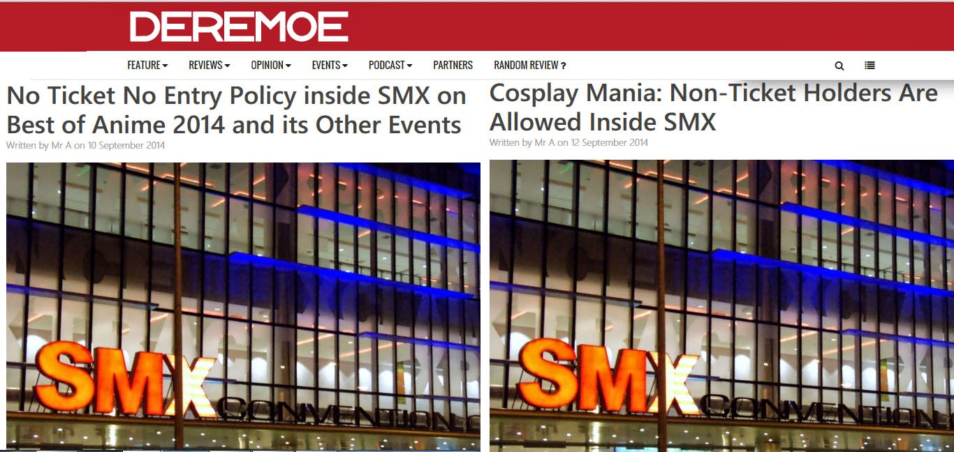 no ticket no entry policy inside smx  battle for supremacy