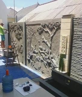 Ornamen Relief 3D