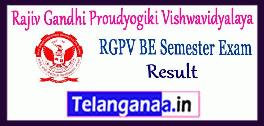 RGPV Rajiv Gandhi Proudyogiki Vishwavidyalaya Non-Grading BE