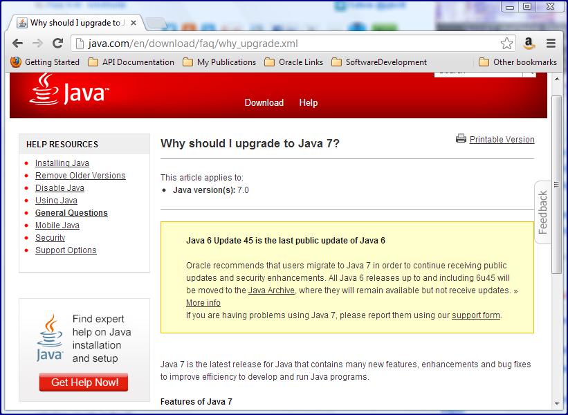 Installer Download: Java 7 Offline Installer Download