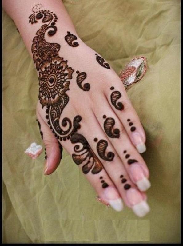 Latest Bridal Mehandi Designs