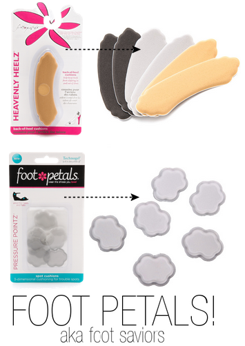 Foot Petals- save your feet from your high heels!