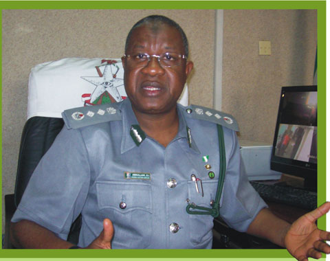 nigerian custom officer kidnapped