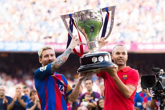 Barcelona 25 lần giành chức vô địch.