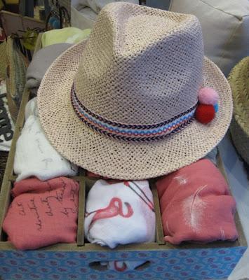 Sombrero de paja para el verano