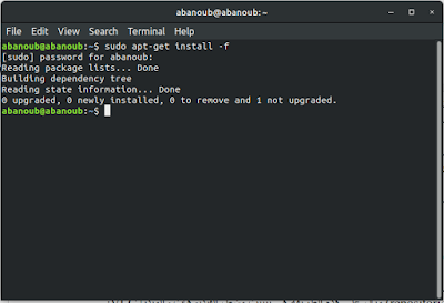 تثبيت حزمة برنامج بإمتداد deb على لينكس دبيان و أبنتو