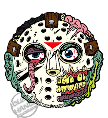 kidrobot Madballs Horrorballs Friday the 13th Jason Voorhees