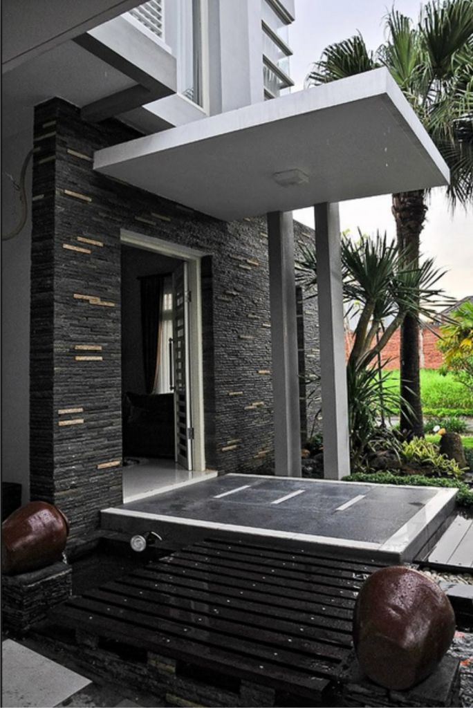 40 Gambar Model Kanopi Rumah Minimalis  Desainrumahnyacom