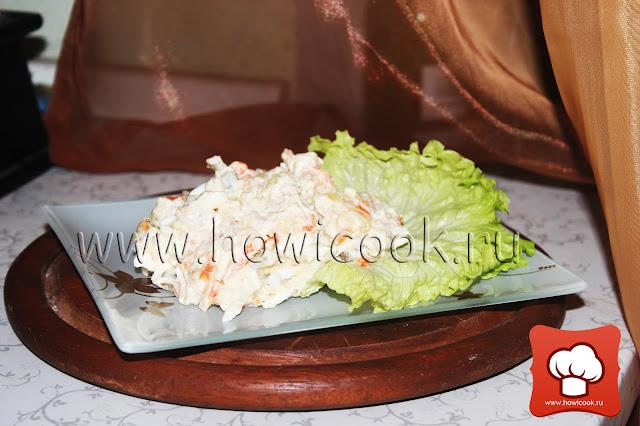 Рецепт как приготовить вкусный салат с печенью трески