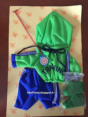 tenue de jogging vintage pour Kiki - neuf et dans sa boite d'origine - vêtements - habits