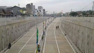 Commuter Line Underpass Stasiun Kereta Api Tambun Sudah Mulai Operasi  Mei 2017