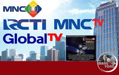 Chanel RCTI, MNCTV dan Global TV hilang atau gelap di satelit parabola