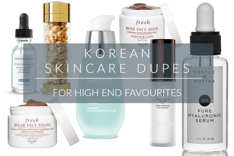 KOREAN SKINCARE DUPES <BR> FOR HIGH END FAVOURITES #2