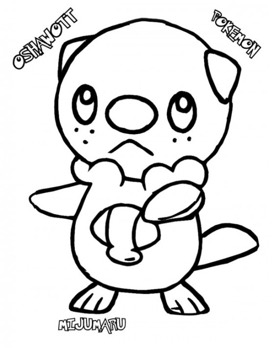 Pokemon Coloring Pages Osha