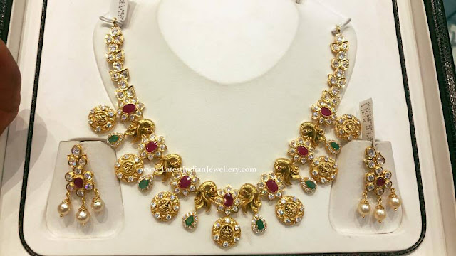 55gms Lakshmi Kasu Necklace
