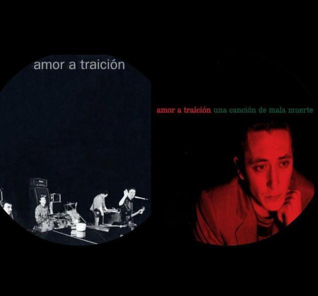 Dos discos Amor a traición y Una canción de mala muerte