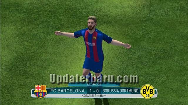 download Update PES2017 Apk OBB Full Data v0.9 Rilis Terbaru