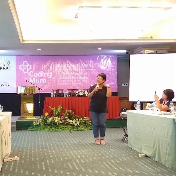 Resmi Menjadi Presiden Komunitas Coding Mum Indonesia
