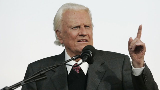 """LUTO: Morreu nesta quarta Billy Graham, o """"Apóstolo Paulo do século XX"""" - Conheça um pouco da sua história"""