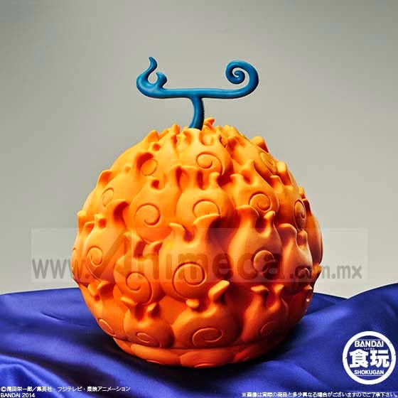 The Devil Fruit Mera Mera no Mi FIGURE ONE PIECE BANDAI