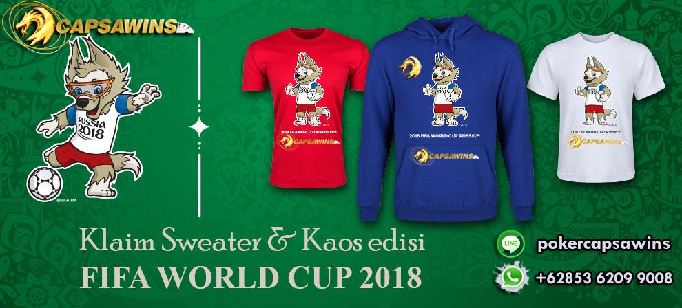 HADIAH KAOS EURO Poker Online Indonesia