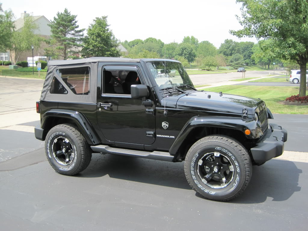 My Jeep Wrangler JK: 33's On Jeep Jk With Lift And Without Lift