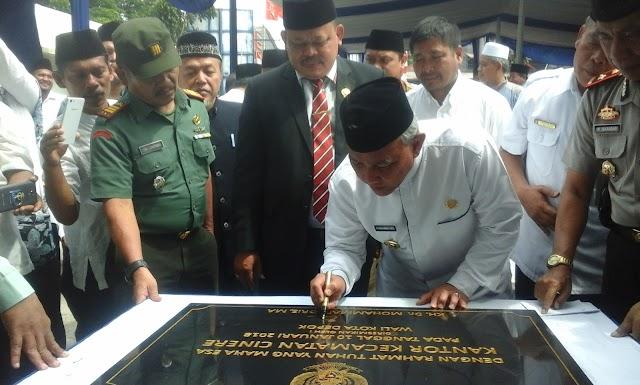 Walikota Ajak Masyarakat Berpartisipasi Rawat Gedung Pemerintah