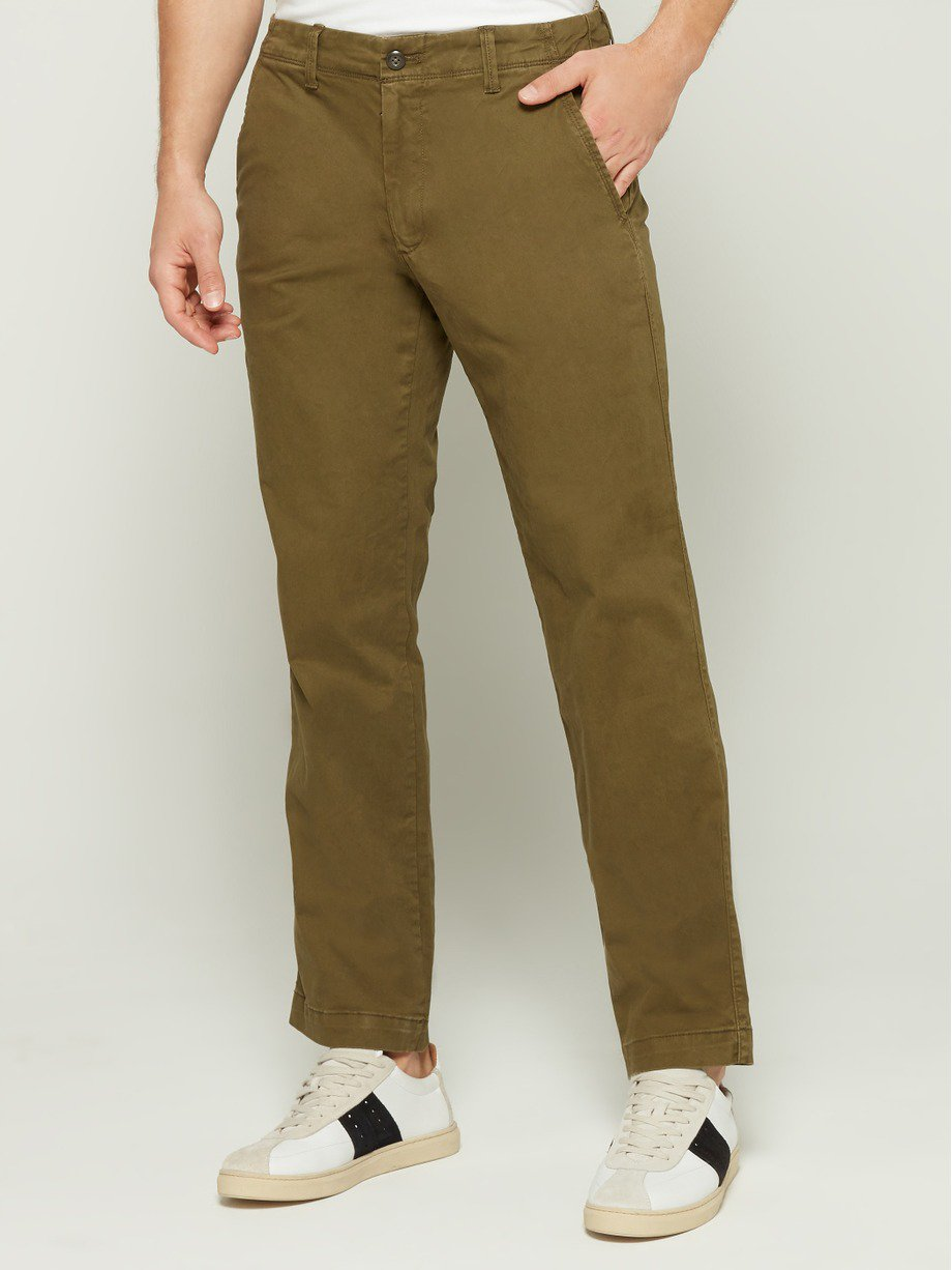 Lived-In Stretch Khaki Pants