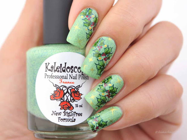 El Corazon: Kaleidoscope by El Corazon Spring No.7, Bunny nails: HD-F