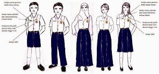 Pakaian Seragam Sekolah Peserta Didik