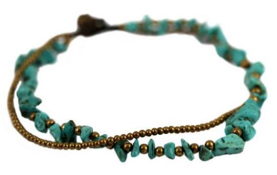 bracelet cheville indien