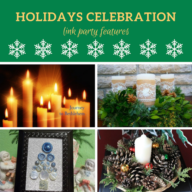 Holidays Celebration link party #1 - the features