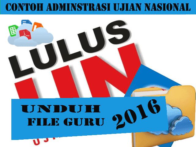 Download Contoh Administarsi Ujian Lengkap 2016
